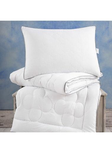 Marie Claire Yorgan-Çift Kişilik Orlane Relax Yorgan 195*215 Cm Beyaz Beyaz